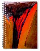 Red Running II Spiral Notebook