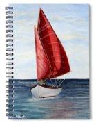 Red Sail Serenity Spiral Notebook