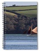 Red Sails In Carrick Roads Spiral Notebook