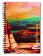 Red Sails In The Sunset Spiral Notebook
