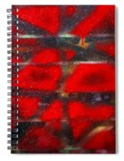 Red Scare Spiral Notebook