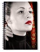 Red Shanghai Spiral Notebook