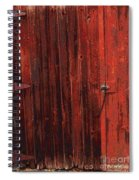 Red Shed Spiral Notebook