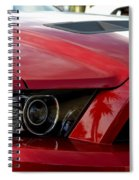 Red Shelby Spiral Notebook