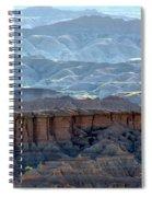 Red Shirt Formation Spiral Notebook