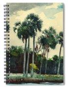 Red Shirt Homosassa Florida Spiral Notebook