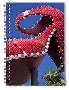 Red Shoe High Heels Spiral Notebook