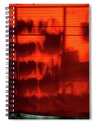 Red Shoes And Purses Spiral Notebook