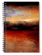 Red Skies At Night Spiral Notebook