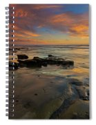 Red Sky California Spiral Notebook