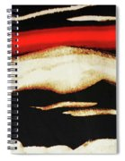 Red Sky In The Morning Spiral Notebook