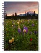 Red Sky Meadow Spiral Notebook