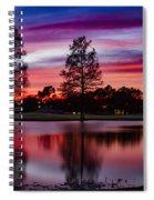 Red Sky Spiral Notebook