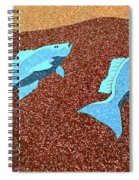 Red Snapper Inlay Sunny Day Invert Spiral Notebook