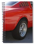 Red Stang Spiral Notebook
