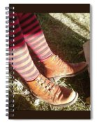 Red Stockings Spiral Notebook