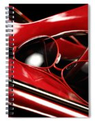 Red Stylish Accessories Spiral Notebook
