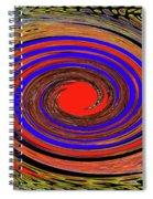 Red Sun  Spiral Notebook