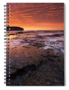 Red Tides Spiral Notebook