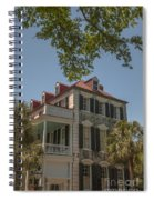 Red Tin Roof On Meeting Street Spiral Notebook