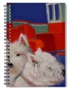 Red Trawlers Spiral Notebook