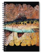 Red Trout Fresco Spiral Notebook