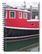 Red Tug Spiral Notebook