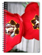Red Tulip Duo Spiral Notebook