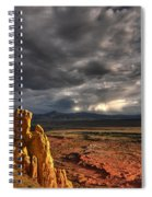 Red Valley Spiral Notebook