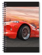 Red Viper Rt10 Spiral Notebook