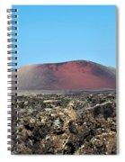 Red Volcano Spiral Notebook