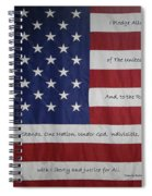 Red White And True Spiral Notebook