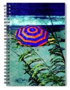 Red-white-blue Spiral Notebook