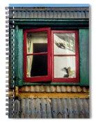 Red Windows Spiral Notebook
