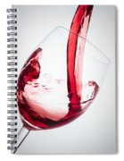 Red Wine Spiral Notebook