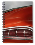 Red Wing Spiral Notebook
