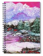 Red Winter Berries Spiral Notebook
