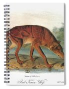 Red Wolf (canis Lupus) Spiral Notebook