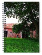 Red Wood Barn Spiral Notebook