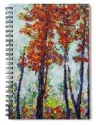 Red Woods Spiral Notebook