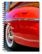 Red Woody Oc Spiral Notebook