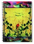 Redbird In The Valley Of Beautiful Possibilities Spiral Notebook