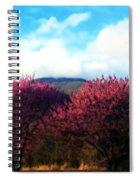 Redbud In The Blue Ridge Spiral Notebook
