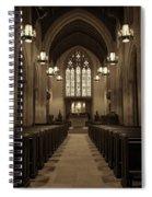 Redemption - Church Of Heavenly Rest #3 Spiral Notebook