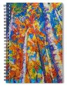 Redemption - Fall Birch And Aspen Spiral Notebook