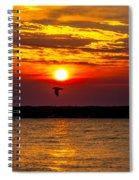 Redeye Flight Spiral Notebook