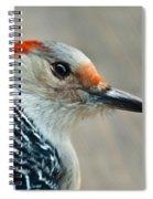 Redhead Portrait Spiral Notebook