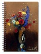 Redon: Wild Flowers, C1912 Spiral Notebook