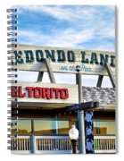 Redondo Beach Pier Closeup Spiral Notebook