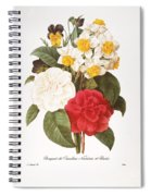 Redoute: Bouquet, 1833 Spiral Notebook